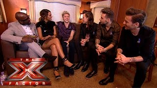 One Direction dish the dirt on their X Factor return | The Xtra Factor 2015