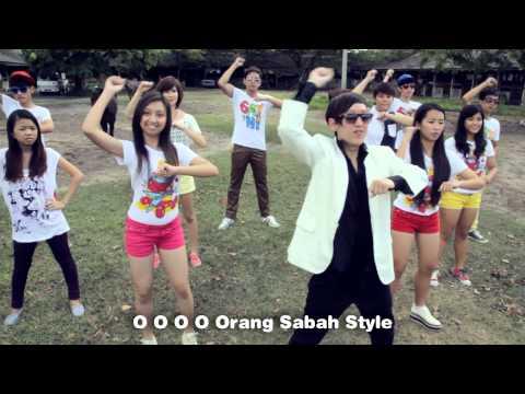 ORANG SABAH STYLE (OPPA GANGNAM STYLE PARODY)