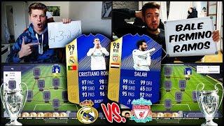 Heftiges C. Ronaldo vs. Salah CHAMPIONS LEAGUE FINALE Squad Builder Battle! 🔥🔥 Fifa 18 Ultimate Team