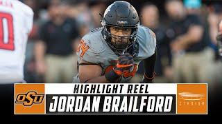 Jordan Brailford Oklahoma State Football Highlights - 2018 Season | Stadium