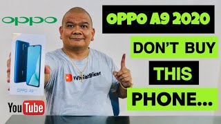 OPPO A9 2020 - DON'T BUY THIS SMARTPHONE...