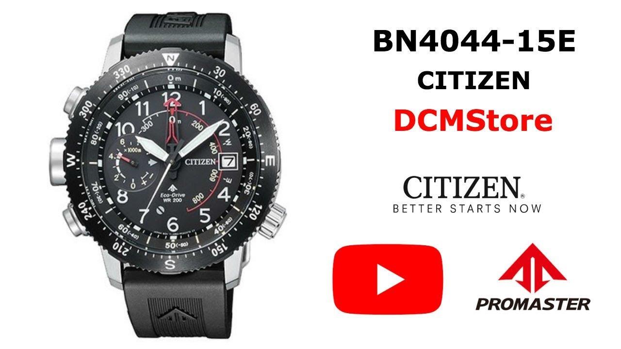 BN4044-15E Citizen Promaster Altichron ...... DCMStore - YouTube 970948677