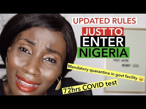 LAGOS International Airport MM NEW Arrival Protocols   RULES HAVE CHANGED AGAIN, SEE HOW!