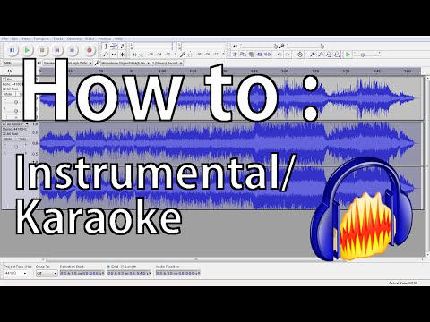 How to make an Instrumental track | Audacity Tutorials