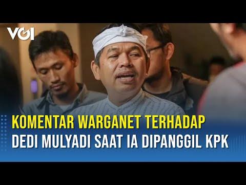 Dedi Mulyadi Diperiksa KPK Jadi Saksi, Ribuan Warganet Percaya Kang Dedi Tak Mungkin Korupsi