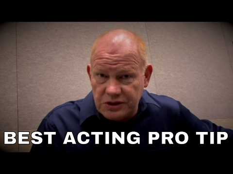 Good Auditioning Acting Advice from a loved & professional actor Glenn Morer
