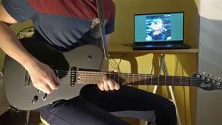 Human Sadness - The Voidz - Guitar solo cover with tabs (Studio Version)