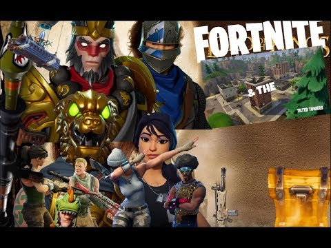 Fortnite and the Tilted Towers