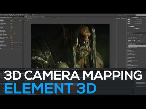 World of Warcraft - 3D Projection (Maya, Element 3D) & Making Of
