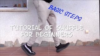How to Shuffle (Tutorial For Beginners Steps): Jhonny Amarante