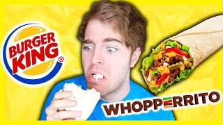 TASTING BURGER KING'S WHOPPERRITO!