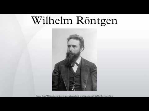 an analysis of wilhelm conrad rontgen as a physicist who developed the first x ray The first x-ray, 1895 the discovery of wilhelm rontgen took this radiograph was the winner of the very first nobel prize for physics for his work on the x.