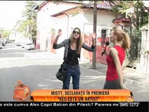 Misty femeia care a aruncat în aer relaţia dintre Keo şi Andreea Bălan
