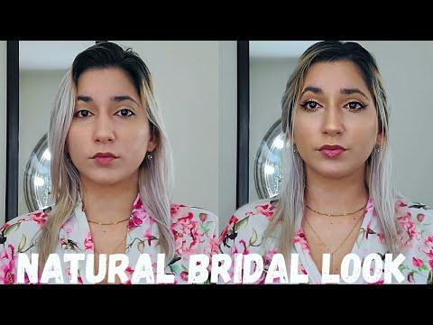 natural bridal makeup look tutorial for beginners  fenty