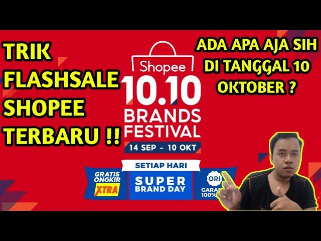 10 10 Flashsale Shopee Begini Trik Cara Mendapatkan Flashsale Shopee Terbaruu Youtube