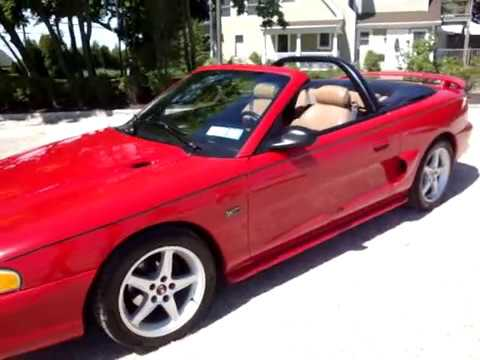 2010 Cobalt Ss >> 1994 Ford Mustang GT Convertible~Loads of Upgrades~MINT - YouTube