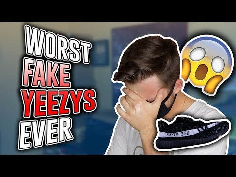 I Can't Believe This... (Fake Yeezys Exposed)
