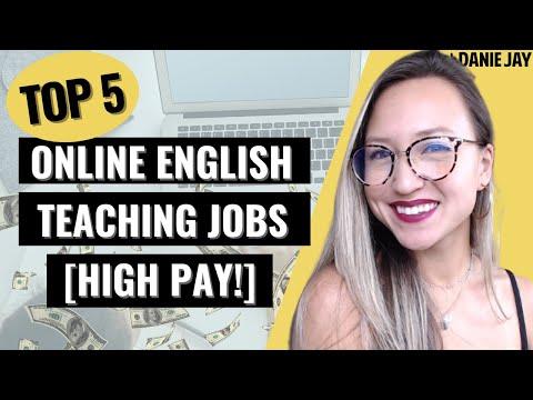 BEST Online English Teaching Jobs for Beginners w/ Highest Pay 2021 | Home Based ESL Jobs