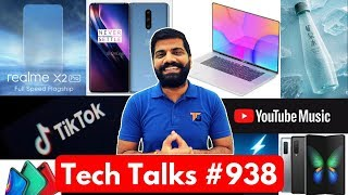 Tech Talks #938 - OnePlus 8 Leaks, Galaxy Fold Sold Out, TikTok Ban Political Ads, Realme X2 Pro 50W