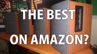 Edifier R1280T and R1280DB Bookshelf Speakers Unboxing and Review