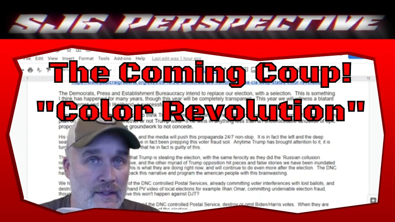 The coming 'Color Revolution' coup...Get Ready! #coup #colorrevolution