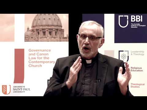 Canon Law distance learning through Saint Paul University and BBI