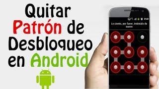 Desbloquear Telefono Movil Android por Intentos errados en Patrón de Desbloqueo