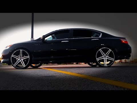 Honda Accord Sport on 22s