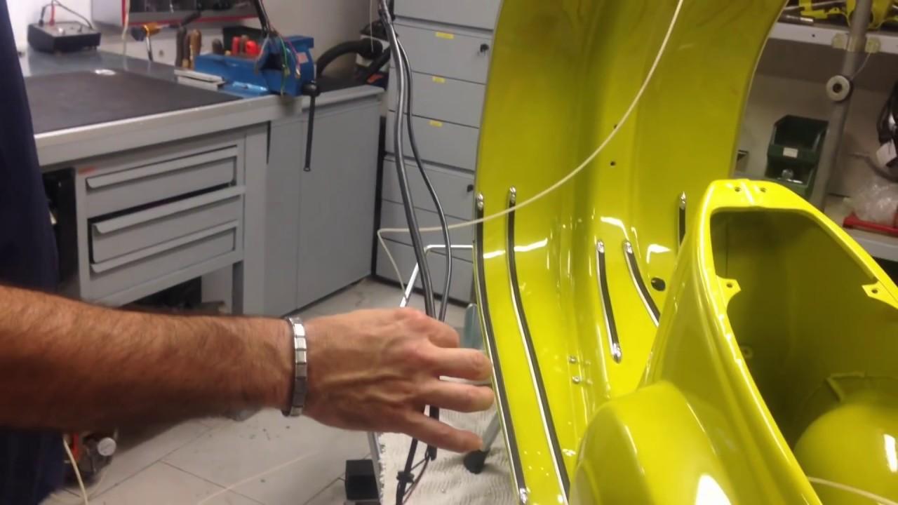 Montaggio cablaggio elettrico vespa 50 -Vespe tutorial - YouTube b55caaff95