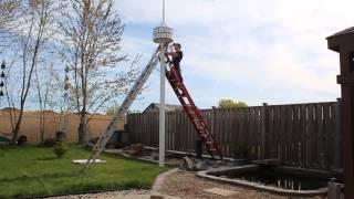 Huge Bird House, Final Install