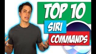top 10 siri commands