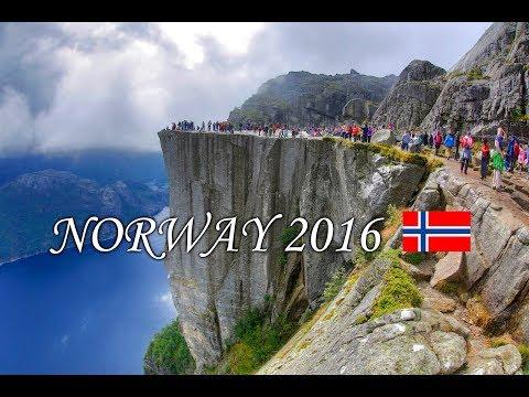 Norway 2016  🇳🇴 | Stavanger - Preikestolen | Kjeragbolten | Rosfjord – Lyngdal | MS Sandness