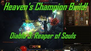 Diablo 3: Reaper of Souls, Heaven's Champion Crusader Build, Patch 2.0.4