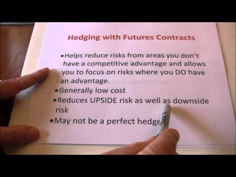 Futures Hedging vs Speculating