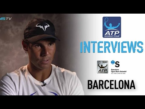 Interview: Rafael Nadal Reflects On Historic Honour In Barcelona 2017