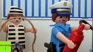 Feuer im Gefängnis Playmobil Film seratus1 Gefängnis Ausbruch