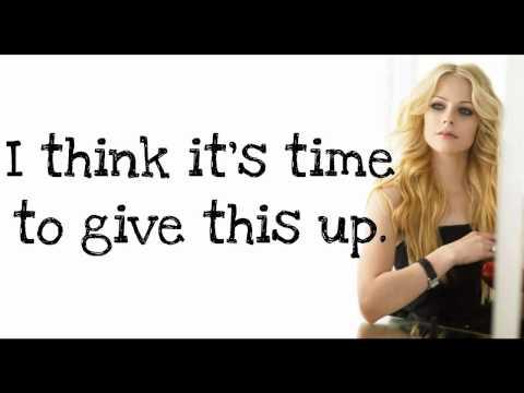 Avril Lavigne - Not Enough (Lyrics) New Song 2011