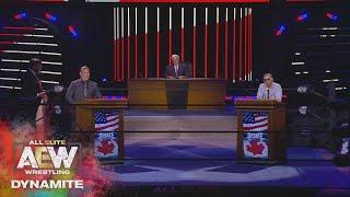 AEW Super Wednesday Debate Part 1 | AEW Dynamite, 8/5/20