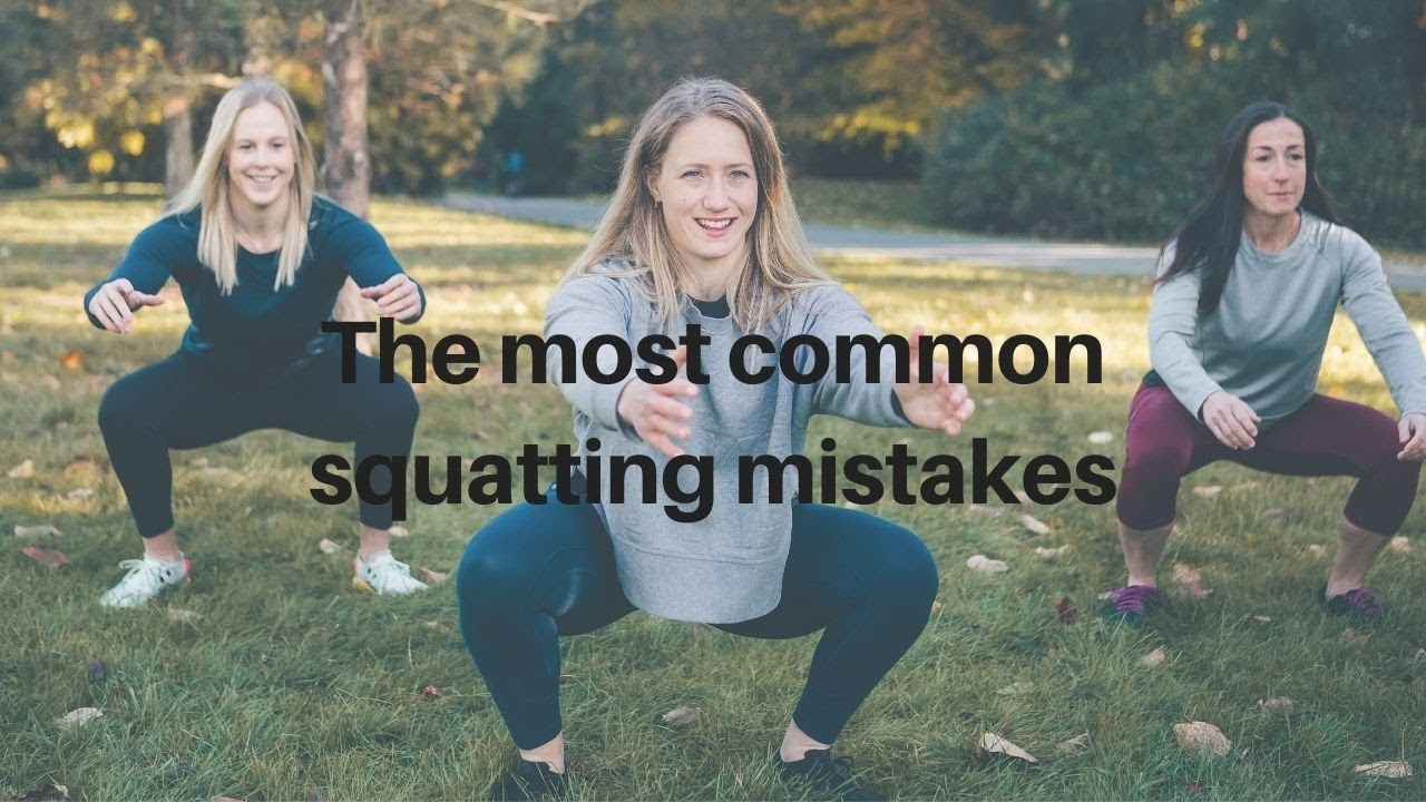 The Most Common Mistakes People Make Squatting