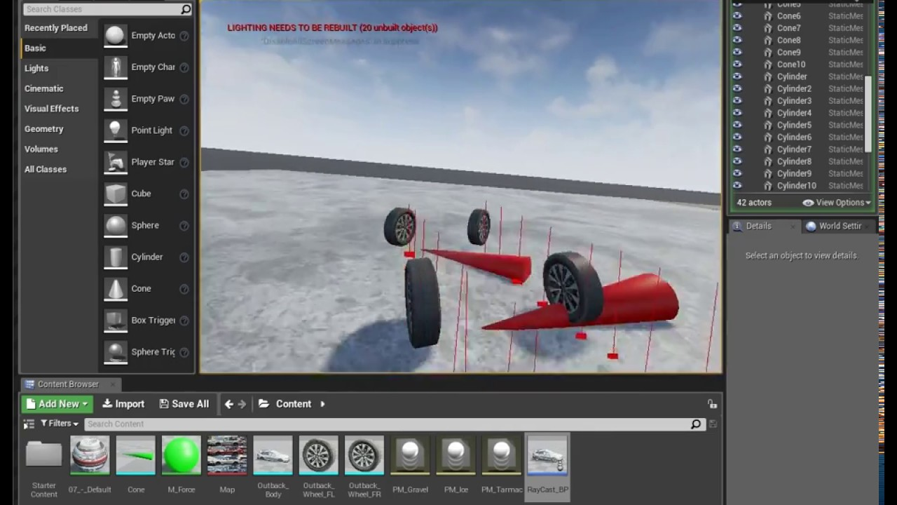 Ue4 line trace vehicle from scratch blueprint only youtube ue4 line trace vehicle from scratch blueprint only malvernweather Choice Image