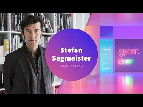 Stefan Sagmeister - Graphic Design | Live from OFFF 2018