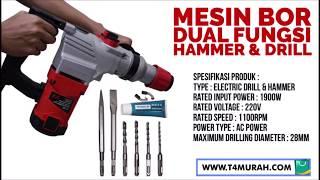 Mesin Bor Beton Hammer drill bobok tembok