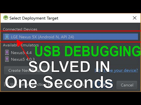 USB Debugging Not Working In Android Studio | Device Not Showing In Android Studio
