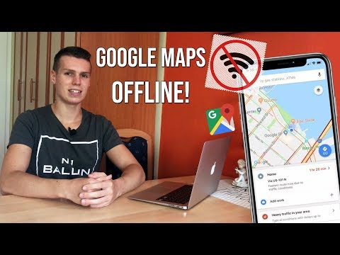 HOW TO USE GOOGLE MAPS OFFLINE! (SAVE, DOWNLOAD MAPS)!