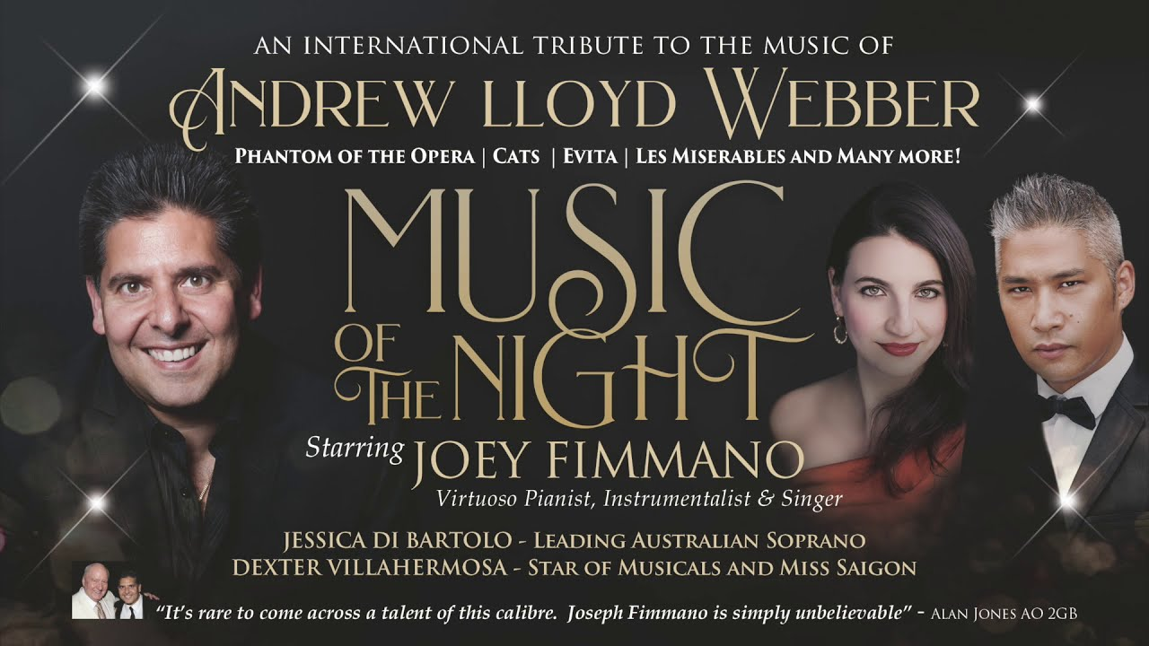 Music Of The Night A Tribute To The Music Of Andrew Lloyd Webber Youtube