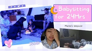 Babysitting for 24Hrs!  |  Life in USA  |  Abhy ThereForYou♡