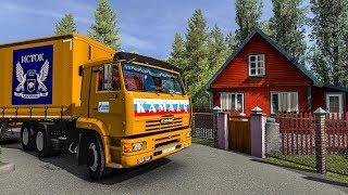 МОЙ ДОМ В САНКТ-ПЕТЕРБУРГЕ! ETS2 (Euro Truck Simulator 2)