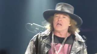 AC/DC feat Axl Rose - For Those About to Rock (We Salute You)  Sep 2 2016 Atlanta