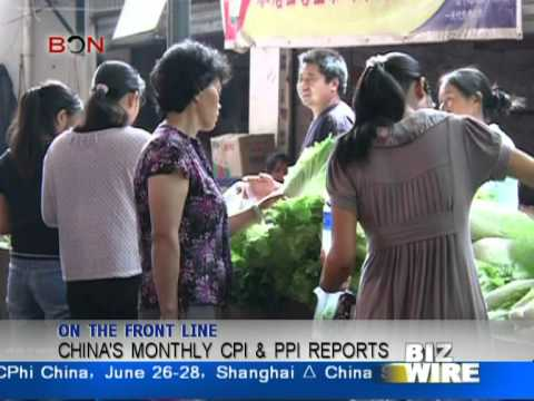 China's monthly CPI & PPI reports - Biz Wire June 12 - BONTV
