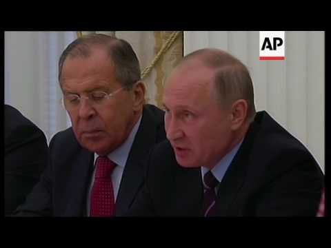 Putin hosts senior Saudi leaders